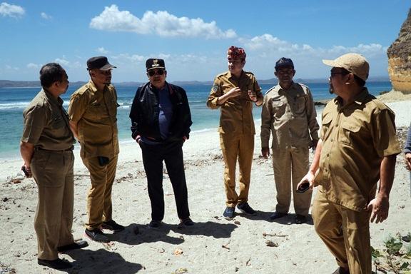 Wakil Bupati Lombok Timur H Rumaksi Sj Sh Tinjau Obyek